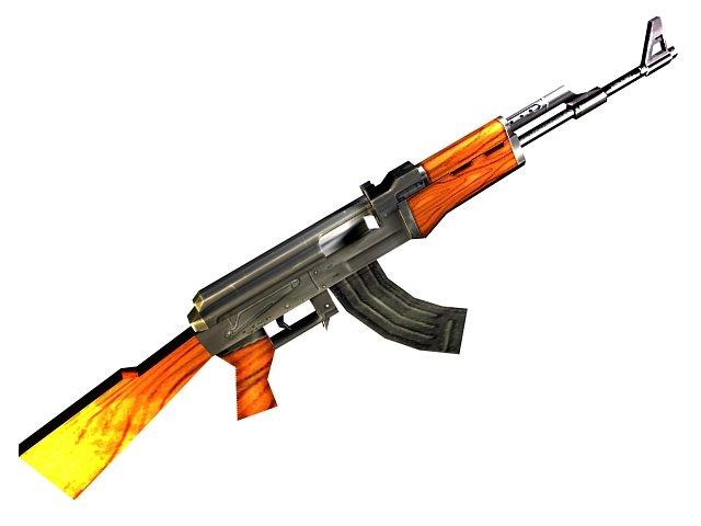 Оружие прикреплеш также в разделах